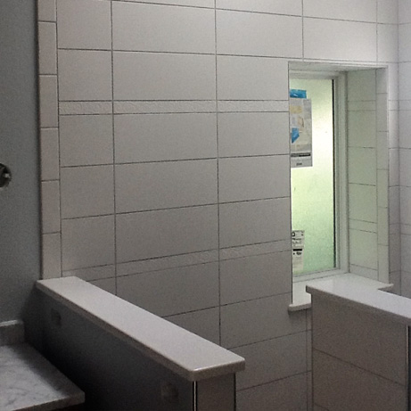 Four Bathrooms: Hand selected Materials