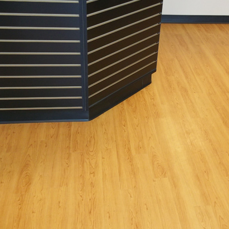 Interstate Batteries: Luxury vinyl plank
